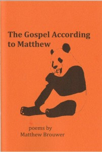 Gospel According to Matthew Cover II